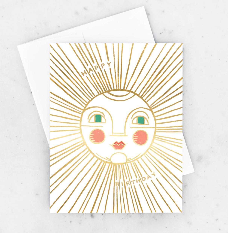 Idlewild Birthday Sun Card
