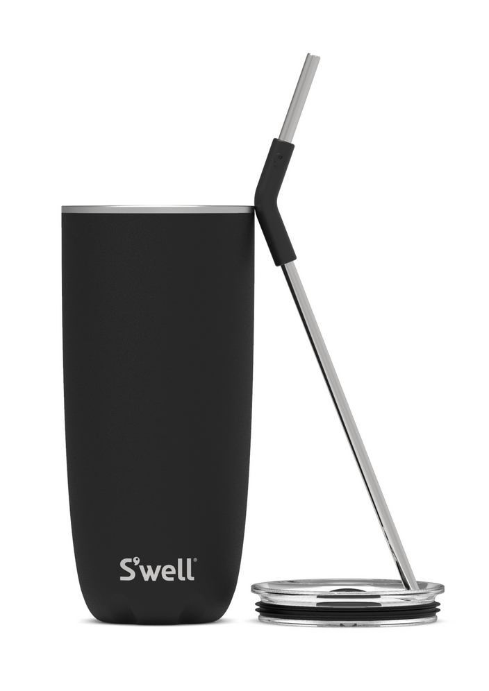 S'well S'well Onyx Tumbler with Straw - 24oz