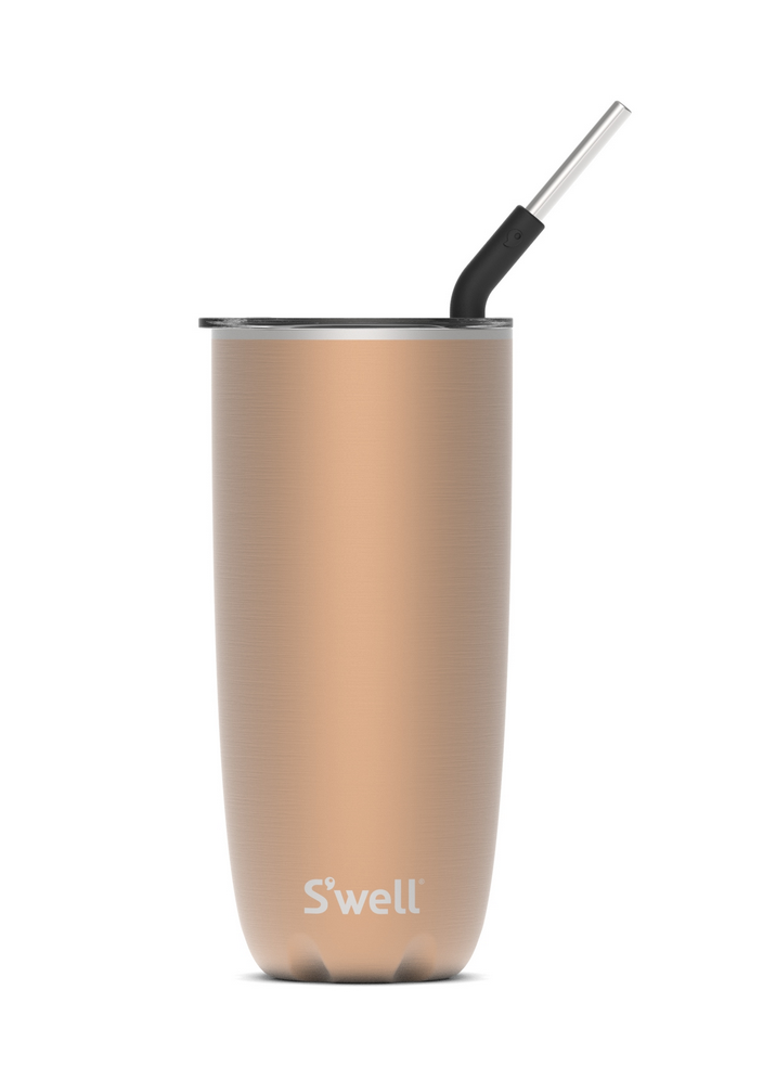 S'well S'well Pyrite Tumbler with Straw - 24oz