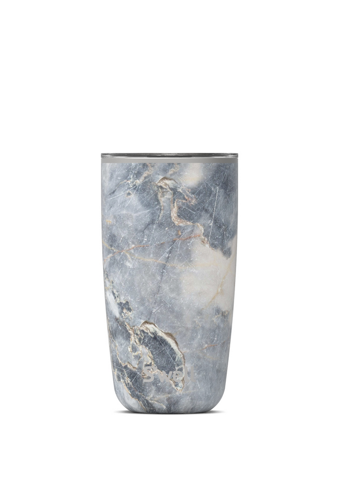 S'well S'well Blue Granite Tumbler with Lid - 18oz