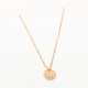 Larissa Loden Tushy Pendant Necklace-Gold Filled