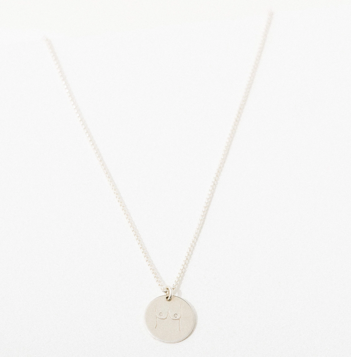 Larissa Loden Boobies Pendant Necklace-Sterling Silver