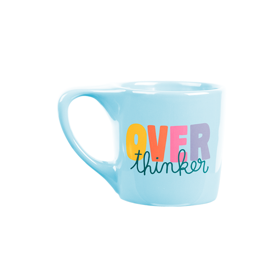 Talking Out of Turn Over Thinker Mug