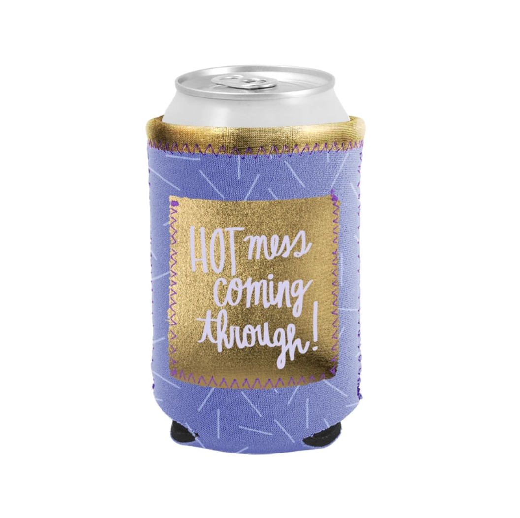 Talking Out of Turn Can Coolers with Pocket-Hot Mess