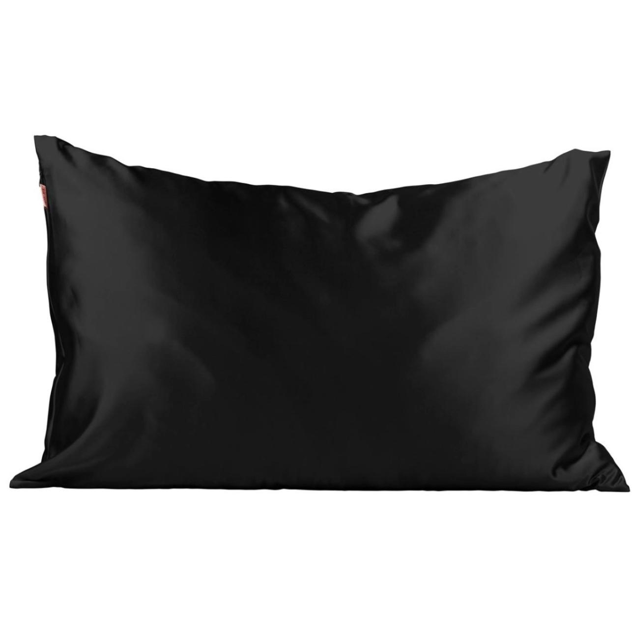 Kitsch Satin Pillowcase - Black
