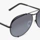 Diff Eyewear koko - matte black + blue gradient flash lens