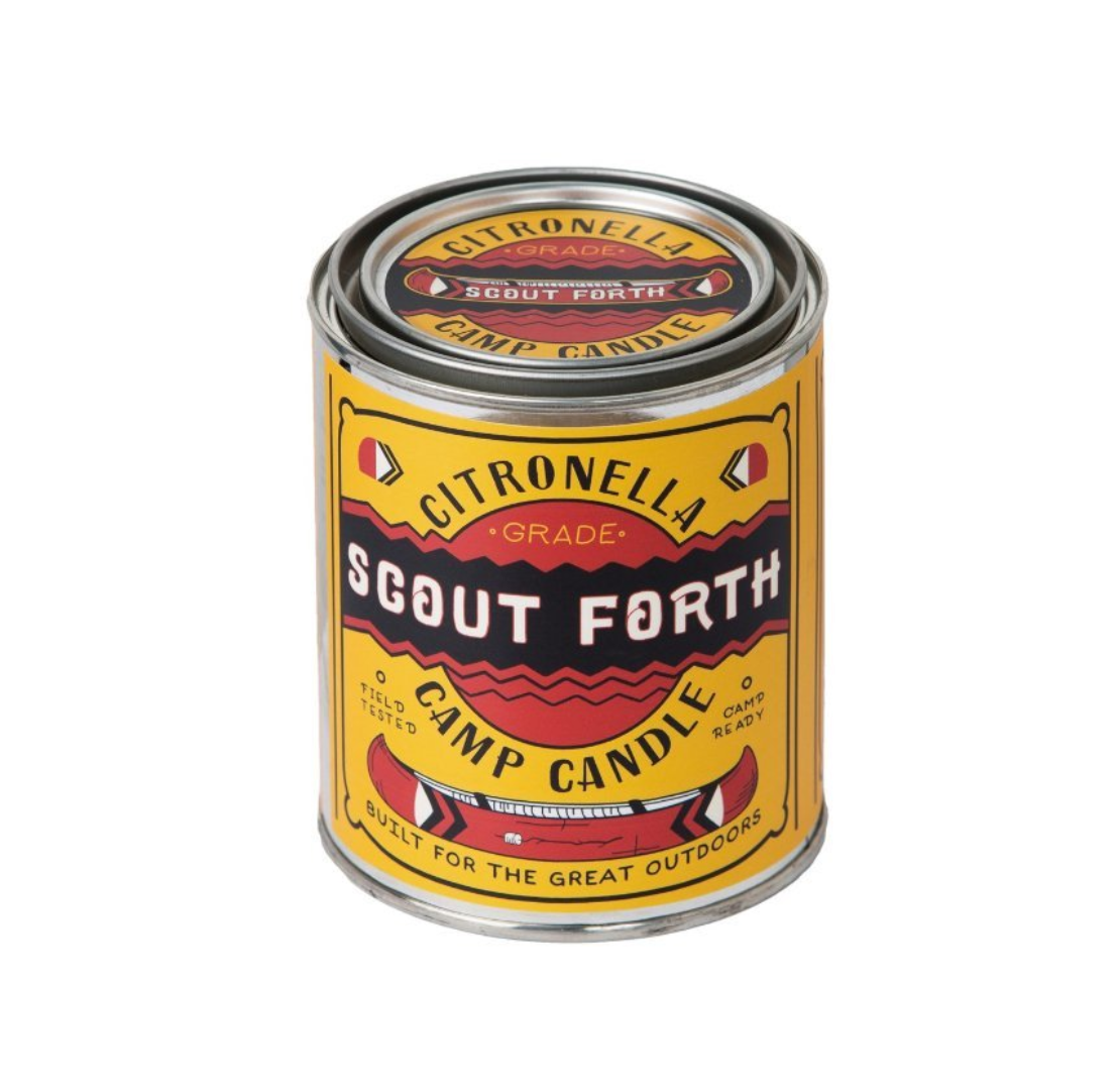 Good & Well Supply Scout Forth Citronella Camp Candle