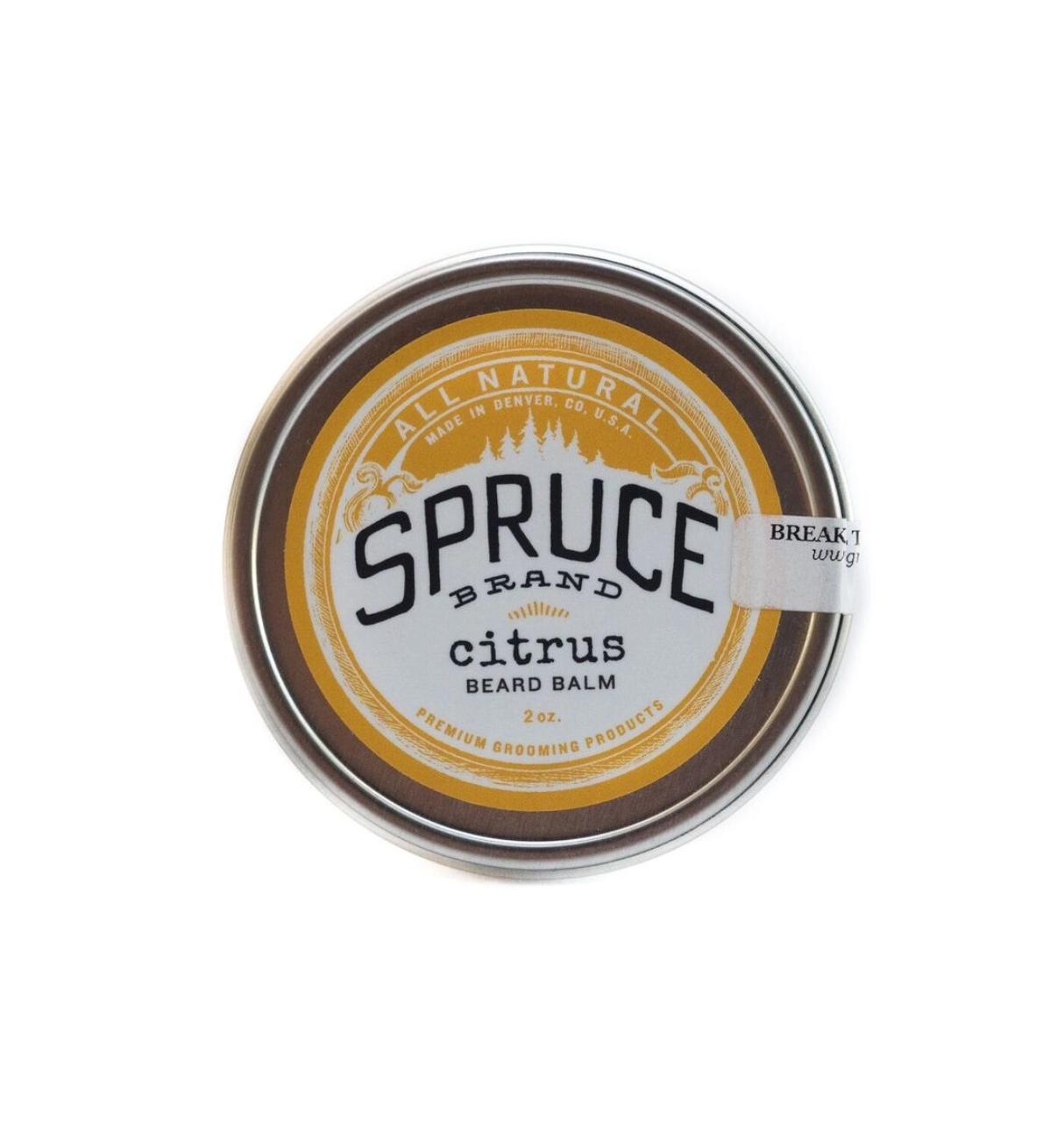 Spruce Beard Collection Citrus Beard Balm-FINAL SALE