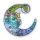 Compoco Space Dinosaur Holographic Sticker