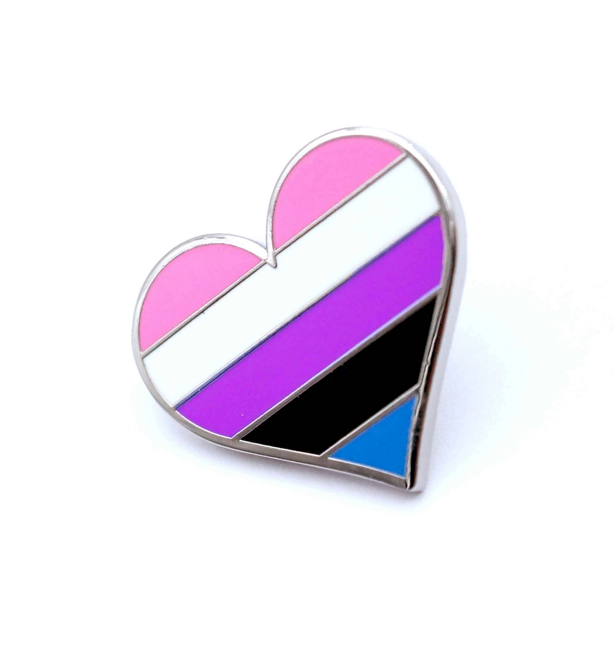 Compoco Gender Fluid Enamel Pin