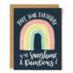 1canoe2 Sunshine Rainbow Birthday