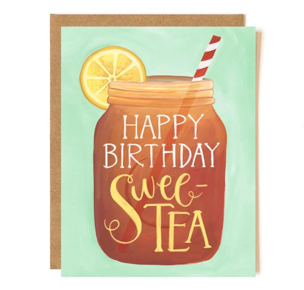 1canoe2 Birthday Sweet Tea Greeting Card