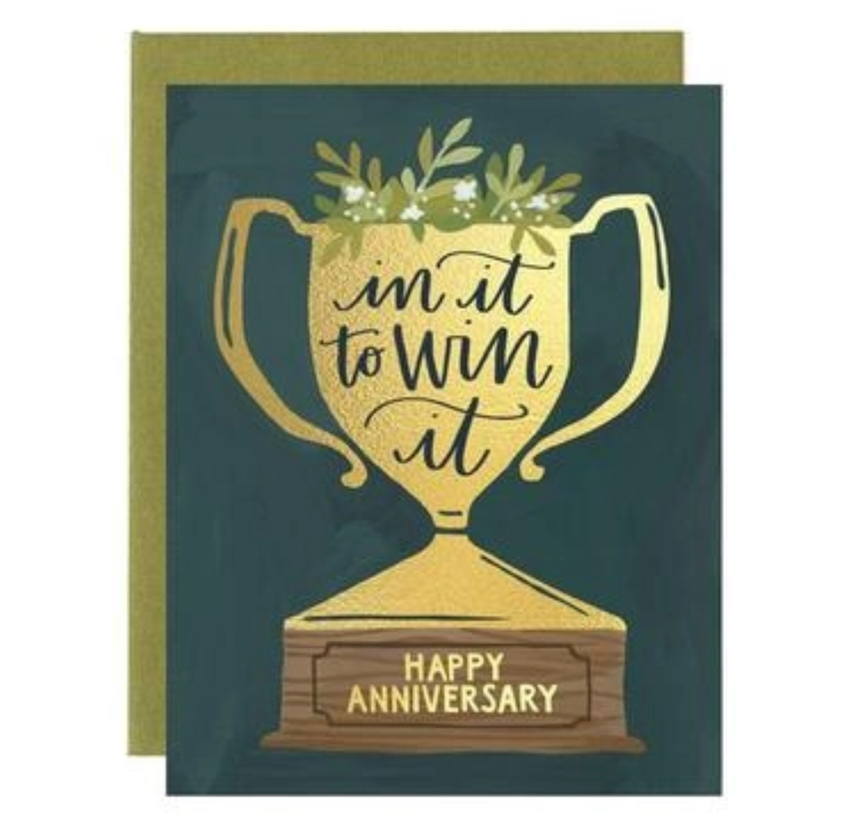 1canoe2 Anniversary Trophy Greeting Card