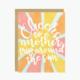 Little Lovelies Studio Around The Sun Birthday Card