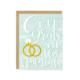 Little Lovelies Studio Congrats On The Nuptials Card