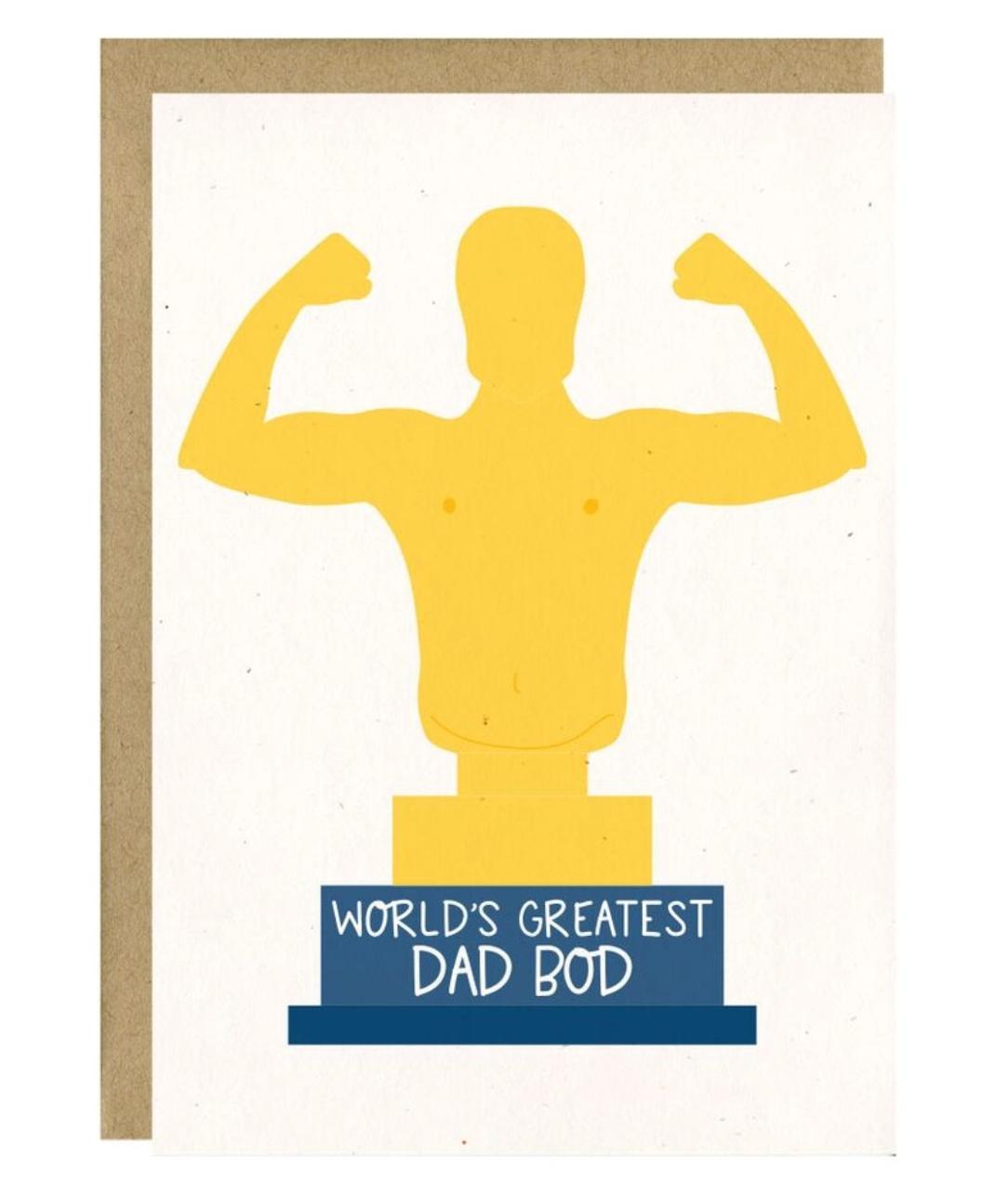 Little Lovelies Studio Dad Bod Card