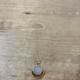 Cameoko The Mini Moonrise Necklace-selenite + yellow jasper