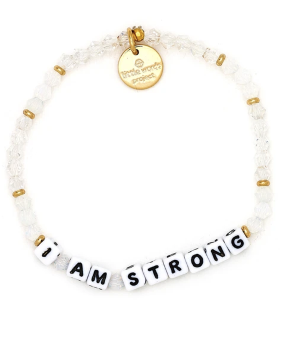 Little Words Project White-I Am Strong-Tokyo-LaurieH