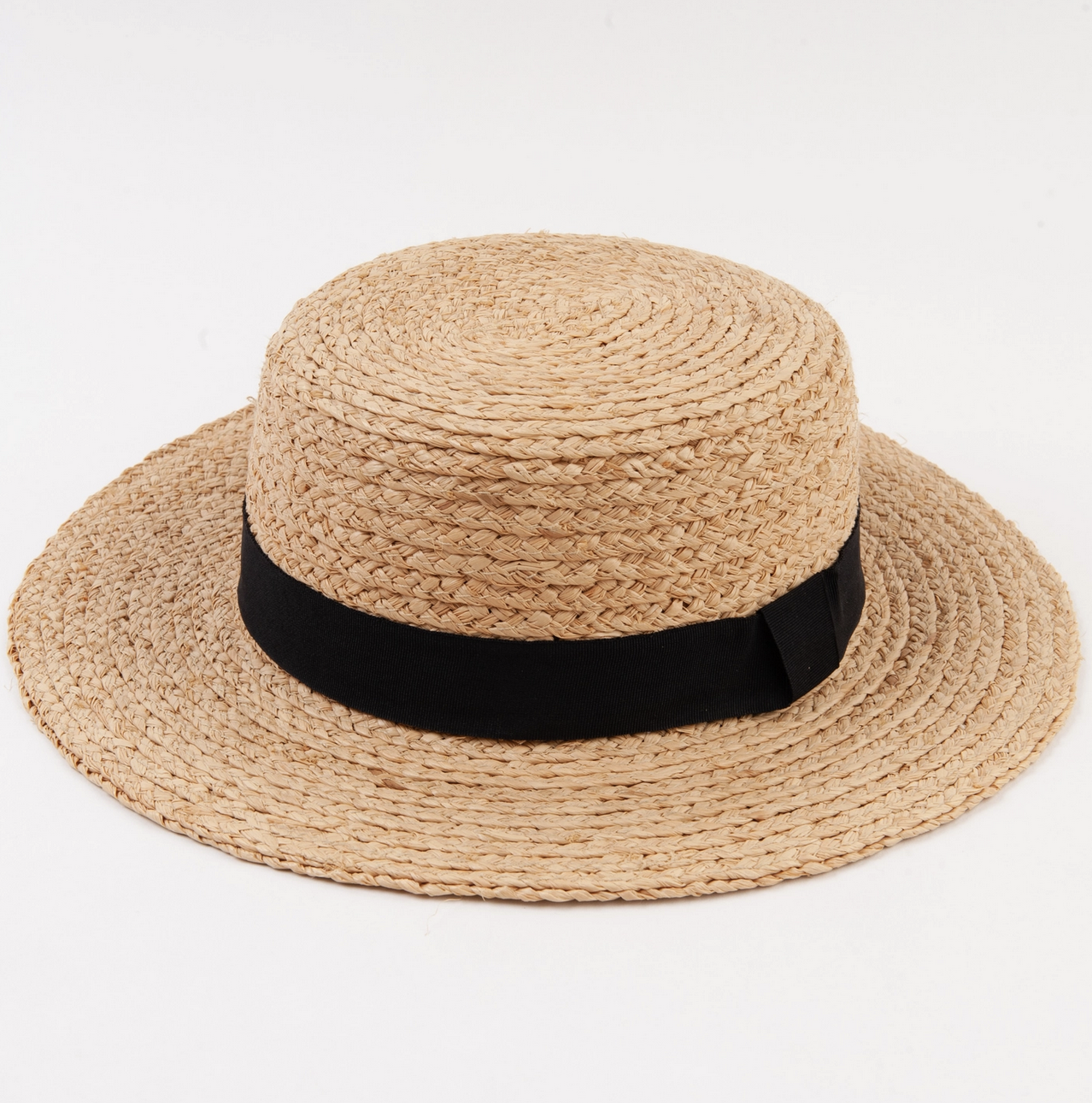 Lucca Couture August Boater Hat