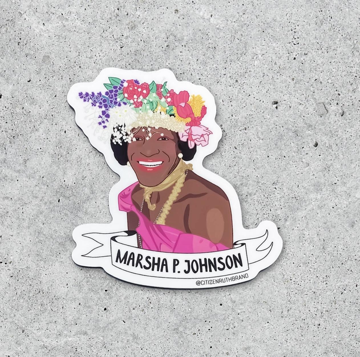 Citizen Ruth Marsha P. Johnson Sticker