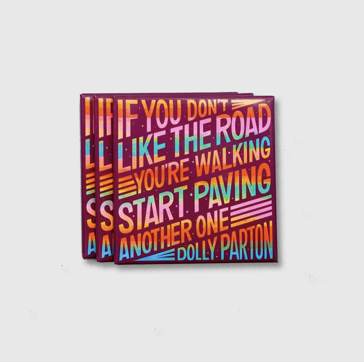 Citizen Ruth Dolly Parton Quote magnet