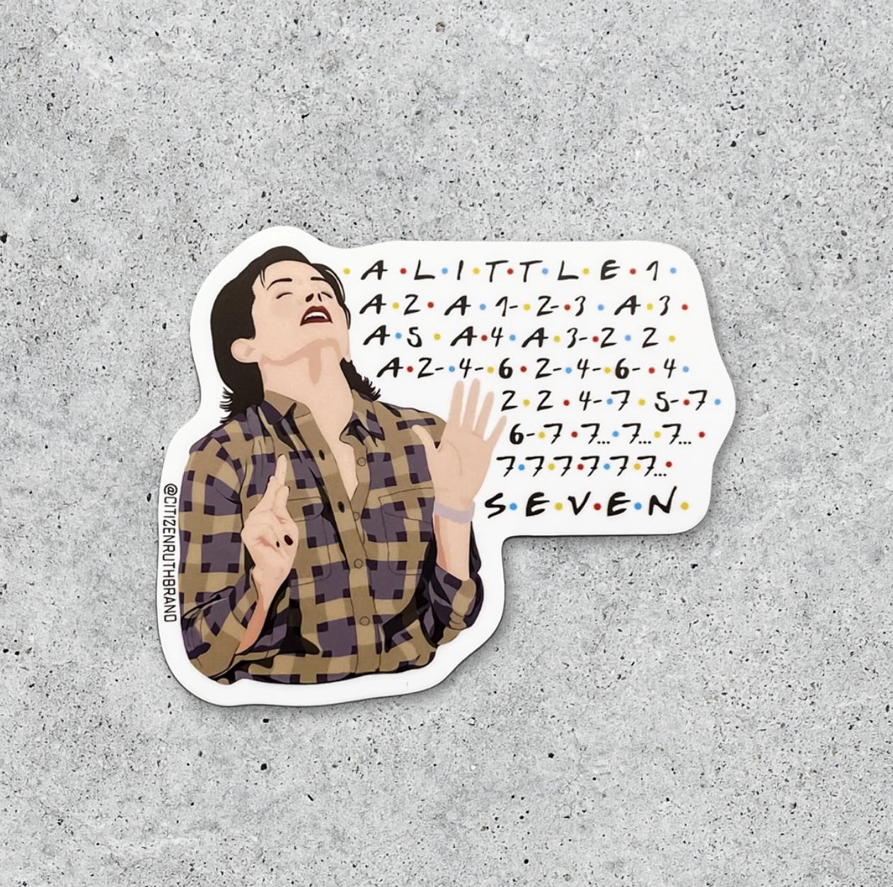Citizen Ruth Friends 7 Erogenous Zones Sticker