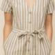 Hem & Thread Larissa Striped Jumpsuit-Olive