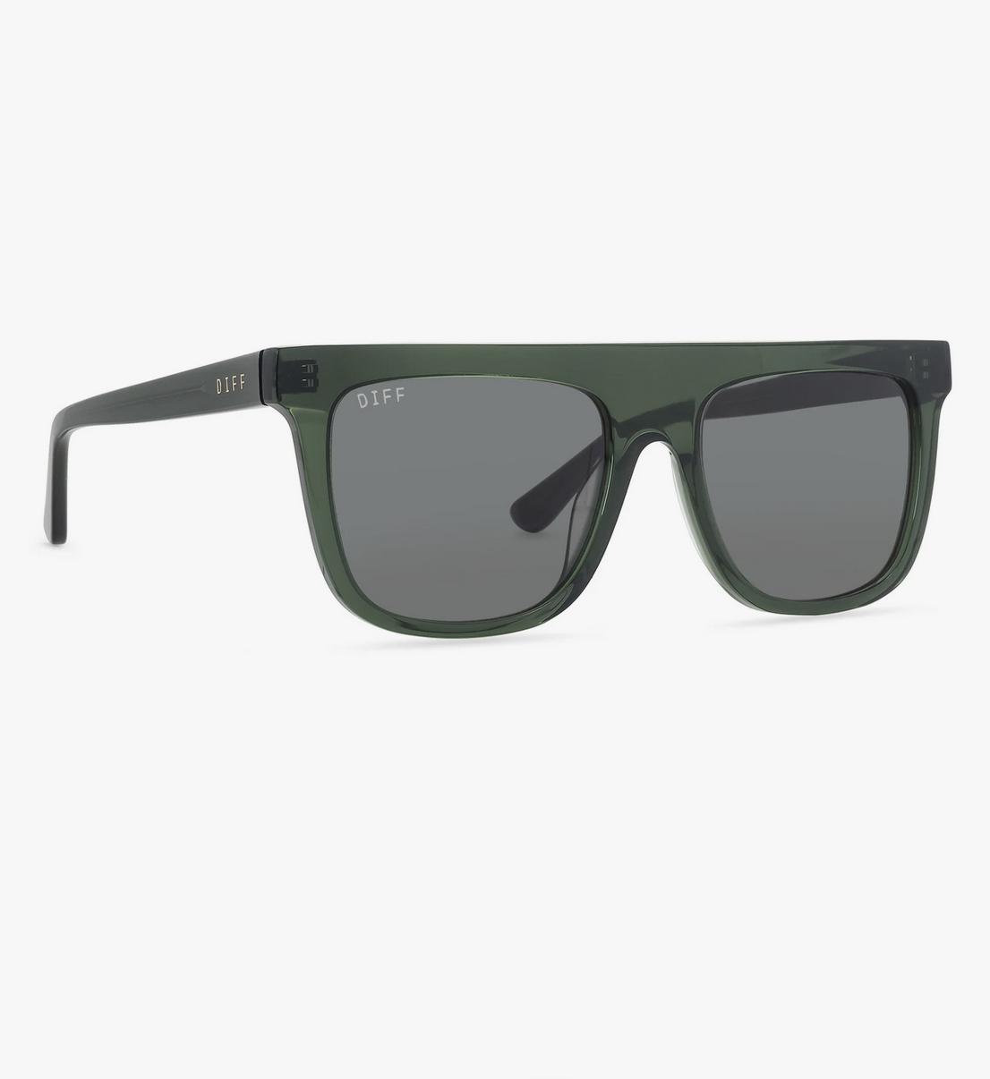 Diff Eyewear stevie - sea grass + g15 lens
