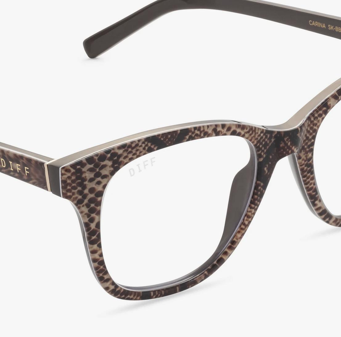 Diff Eyewear carina - sea snake bluelight