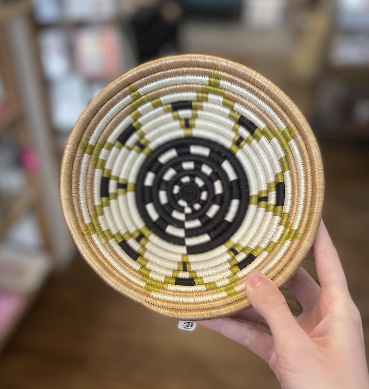 Vai Girl Woven Basket