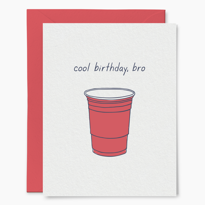 Little Goat Cool Birthday, Bro Card
