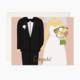 Bloomwolf Studio Wedding Congrats Card
