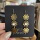 Metrix Jewelry Brigitte Drop Earrings-Moonstone