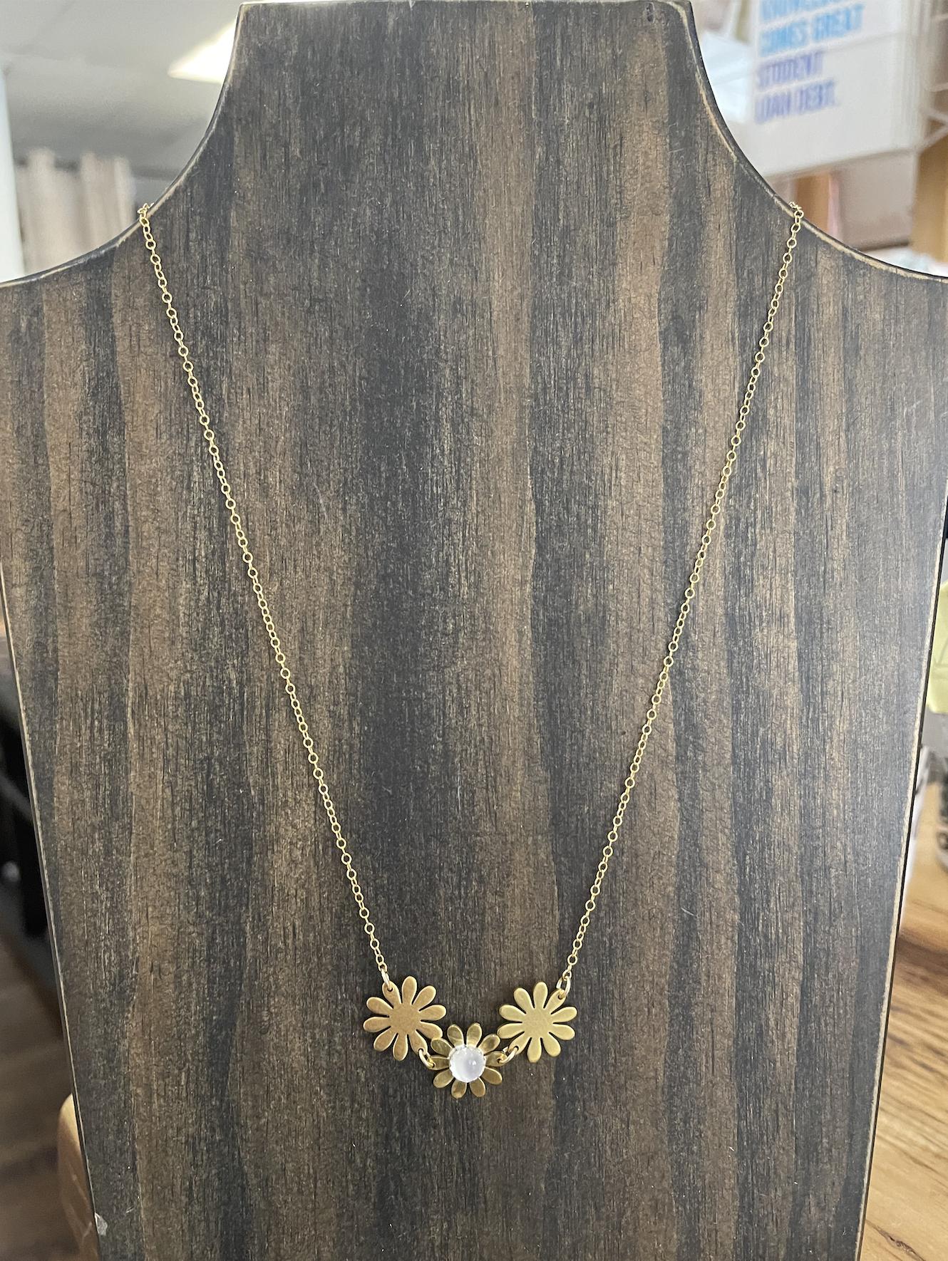 Metrix Jewelry Brigitte Necklace- Moonstone