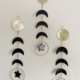 Metrix Jewelry Moonphase Gemstone Wall Hanging