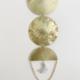 Metrix Jewelry Mini Semi Circle w/ Amethyst Moon Wall Hanging