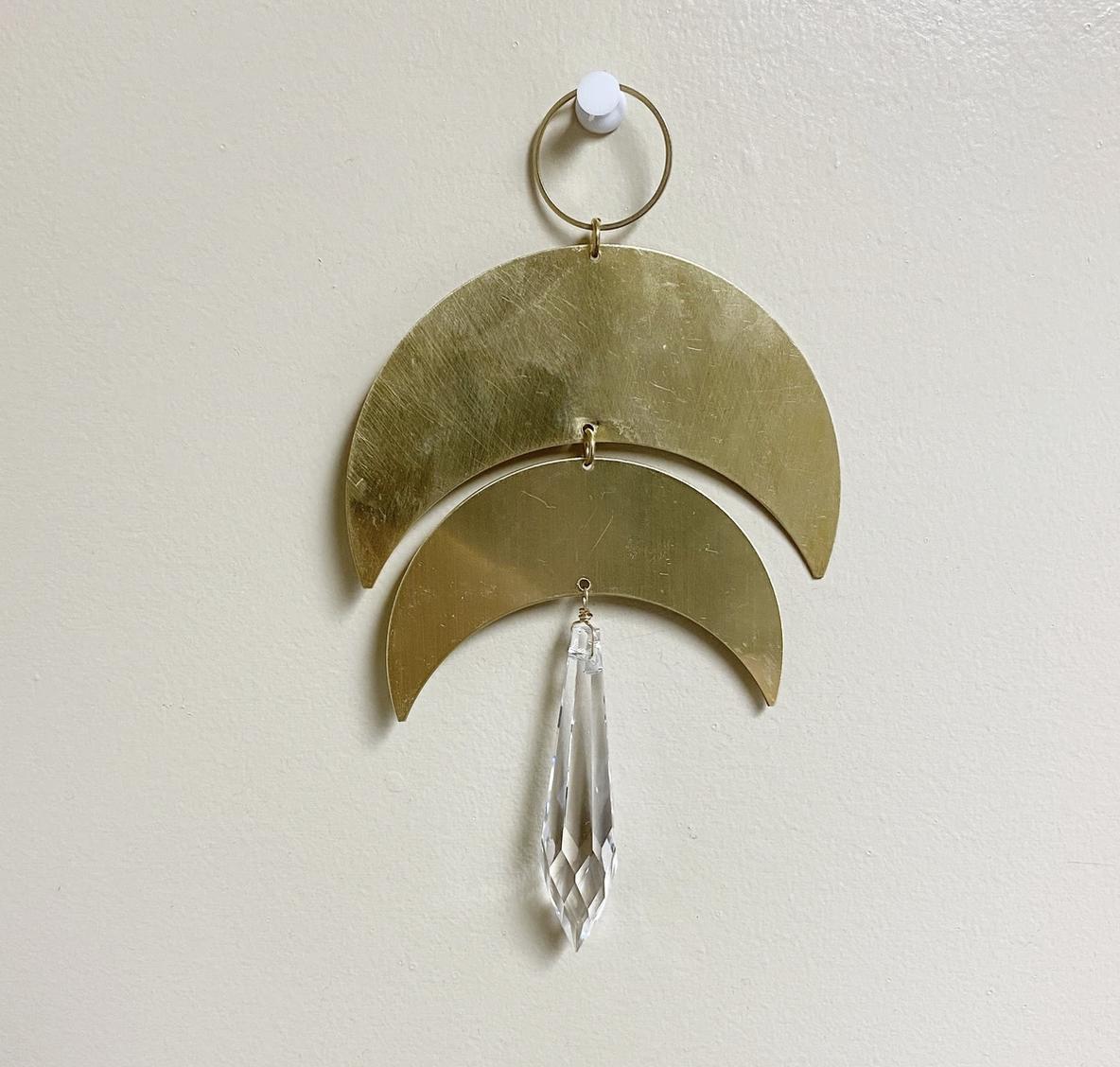 Metrix Jewelry Double Crescent Suncatcher