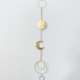 Metrix Jewelry Moon Drop Suncatcher
