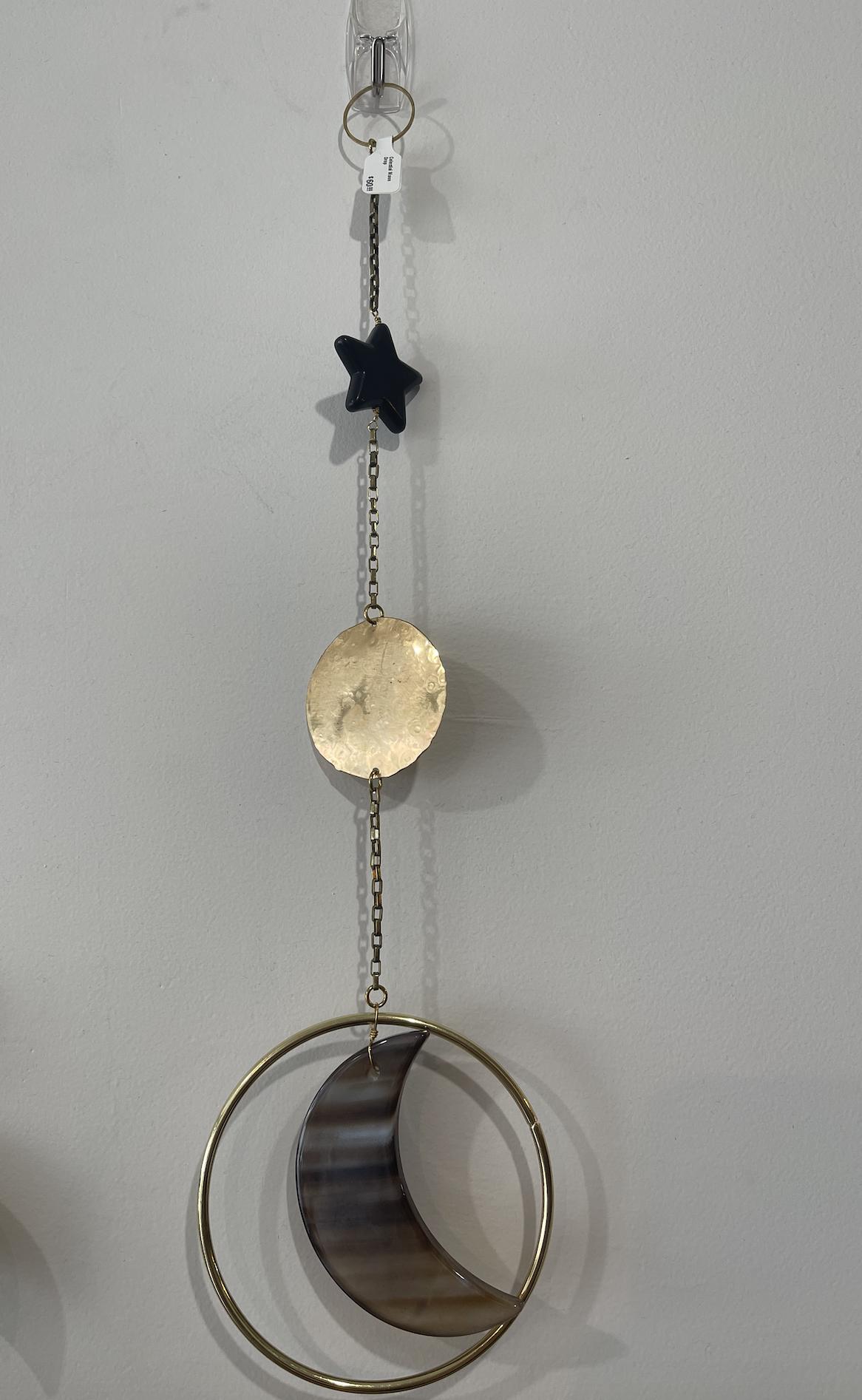 Metrix Jewelry Celestial Moon Drop Wall Hanging