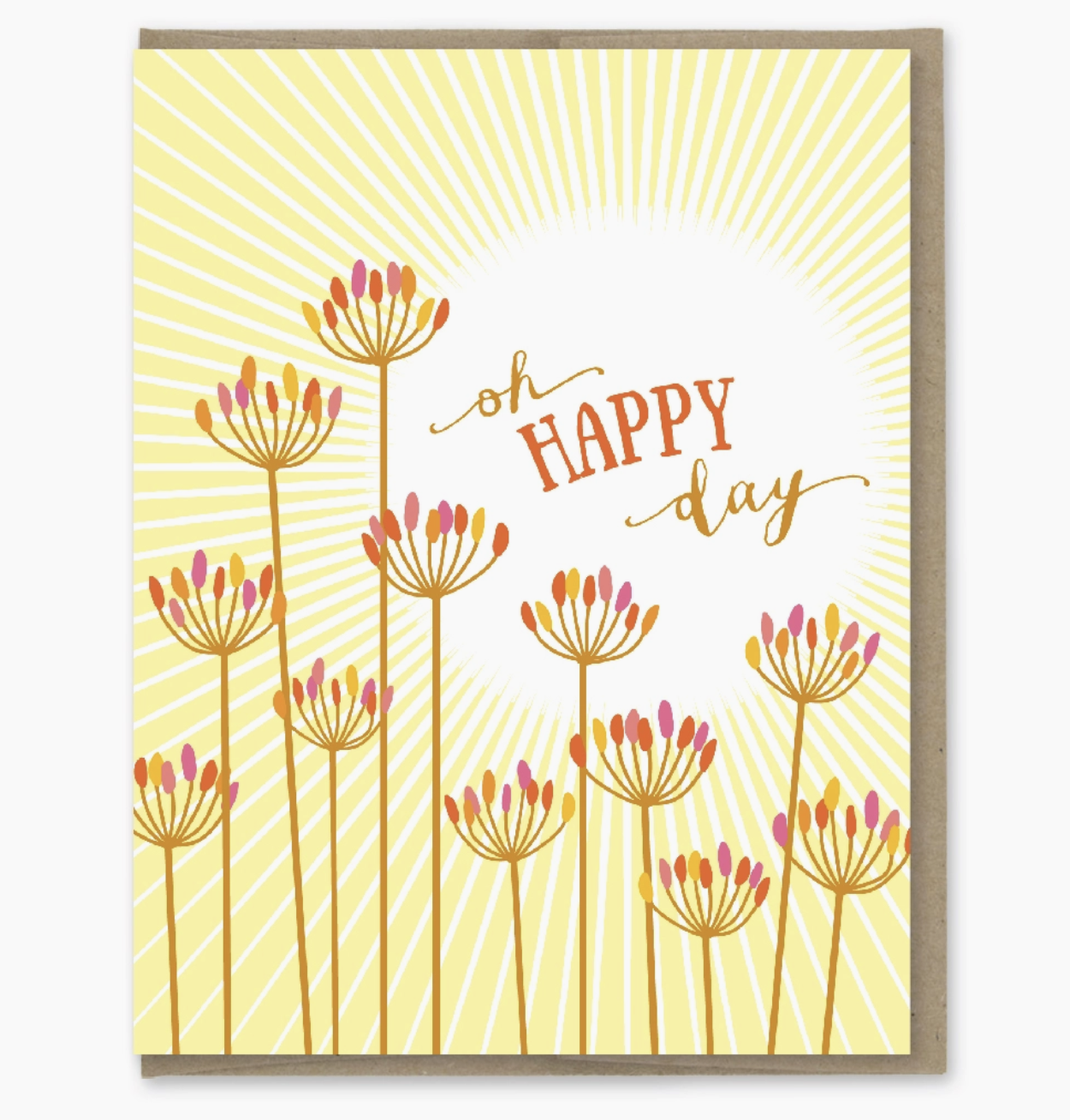 Modern Printed Matter Oh Happy Day Card