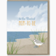 Modern Printed Matter Mom To Be Sand Piper Card