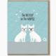 Modern Printed Matter Better Or For Worse Wedding Card