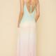 Hem & Thread Rainbow Sorbet Maxi Dress