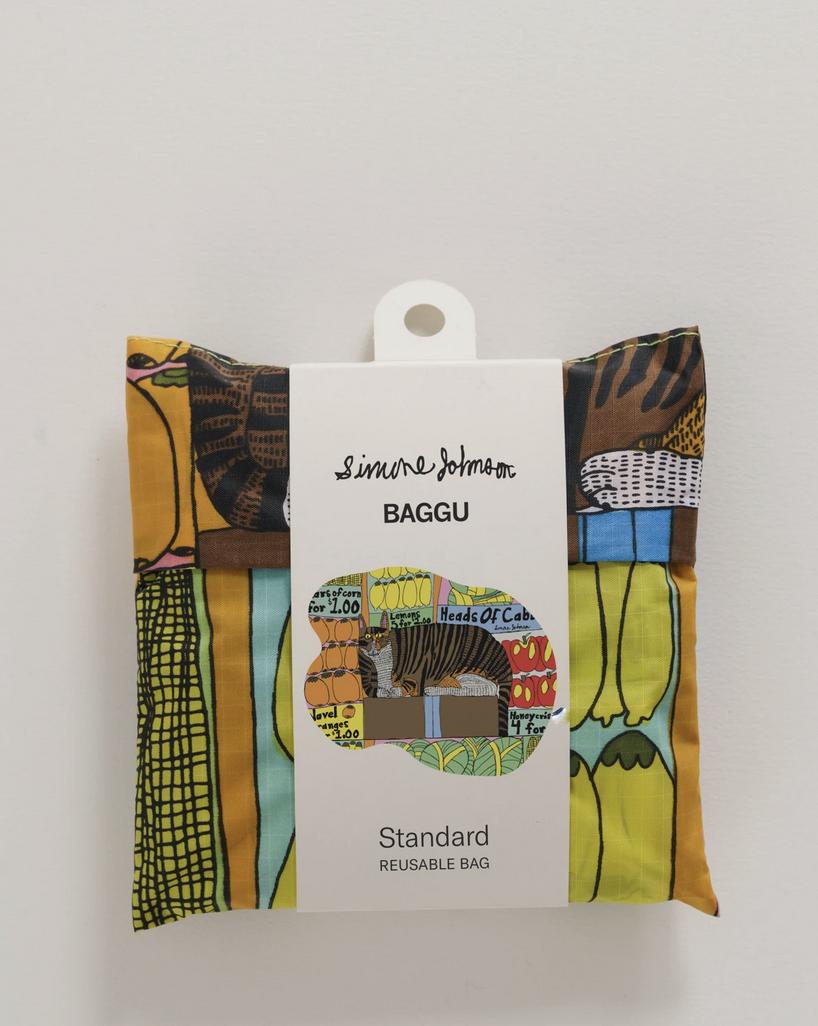 Baggu Standard Baggu - Produce Cat