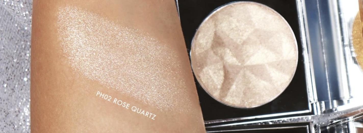 Kara Beauty Dazzling LightsPRESSED Highlighter - Rose Quartz