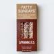 Fatty Sundays Sprinkles Chocolate Covered Pretzels