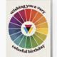 Boss Dotty Color Wheel Birthday