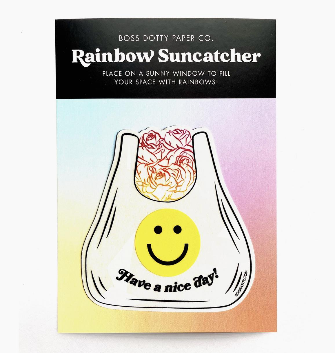 Boss Dotty Nice Day Rainbow Suncatcher