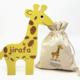 Wordy Wordy Giraffe | English/Spanish