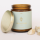 JaxKelly Amber Crystal Candle - Moonstone